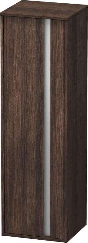 Duravit Ketho Hochschrank B:40xH:132xT:36cm 1 Tür Türanschlag links kastanie dunkel KT1257L5353