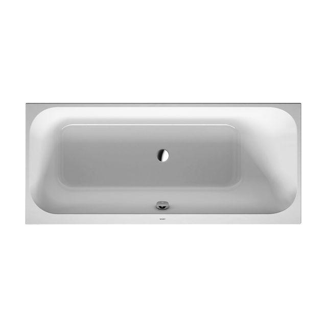 Duravit Happy D.2 Badewanne 1700x700 Einbauversion Rückenschräge rechts weiß 700311000000000