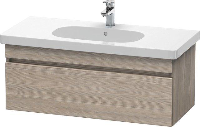 Duravit DuraStyle Waschtischunterschrank wandhängend B:100xH:39,8xT:45,3 cm mit 1 Auszug pine silver DS638503131