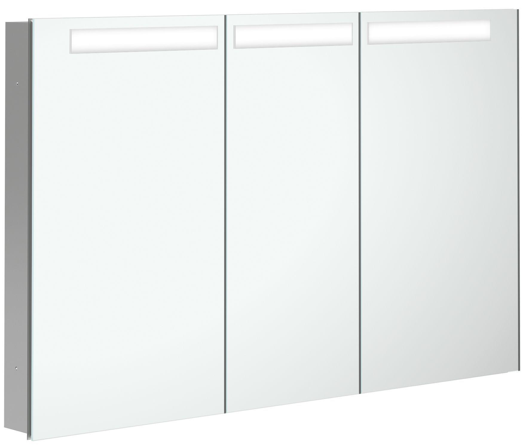 Villeroy & Boch My View In Spiegelschrank mit LED Beleuchtung B:120,1xH:74,7xT:10,7cm A4351200