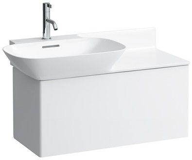 Laufen INO Waschtischunterschrank 1 Auszug B:78xH:35,5xT:35cm weiß matt H4254010301701