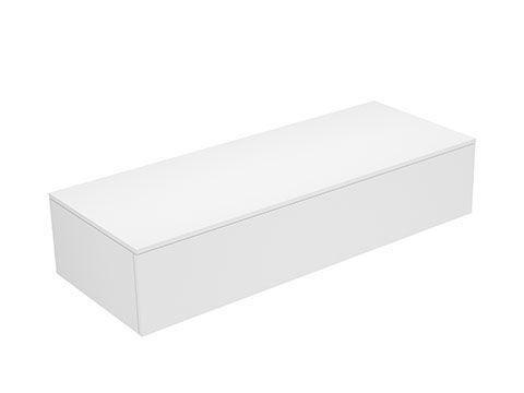Keuco Edition 400 Sideboard wandhängend 1 Frontauszug 1400 x 289 x 535 mm petrol/petrol 31761470000
