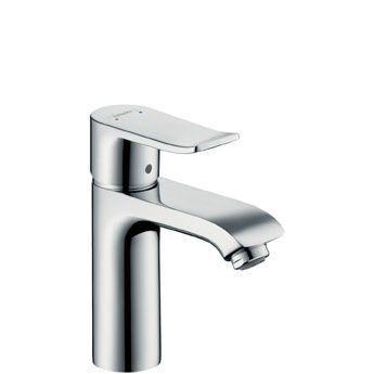 Hansgrohe Metris 31074000 Waschtischmischer 110 für offene Heißwasserbereiter chrom