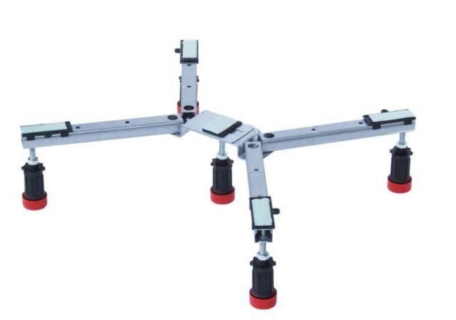Villeroy & Boch Verstellbare Unterstützung für Duschwannen U82990000 H: 150 B: 50 L: 100