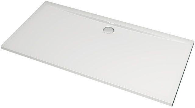 Ideal Standard Rechteck-Duschwanne Ultra Flat weiß H:130 B:900 L: 1800 bodeneben K163801