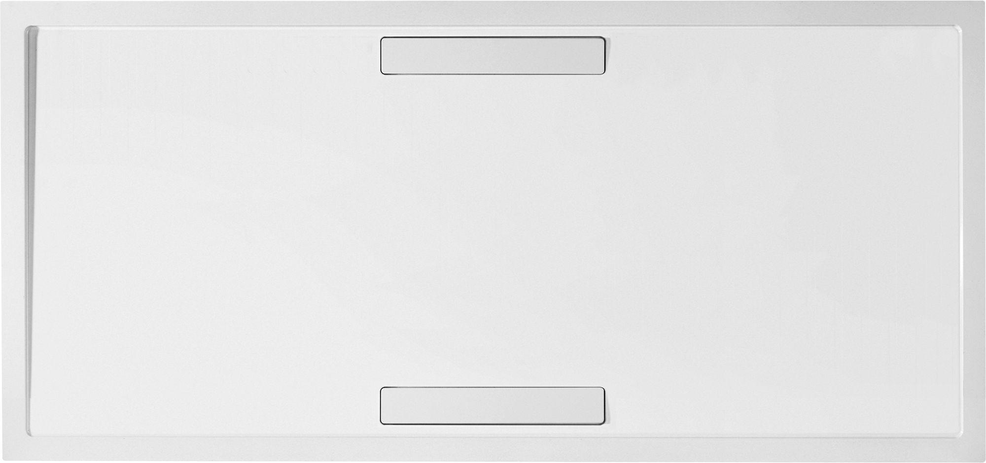 Villeroy & Boch Squaro Duschwanne Rechteck UDQ1690SQR2V-01 H: 18 B: 900 L: 1600 weiß