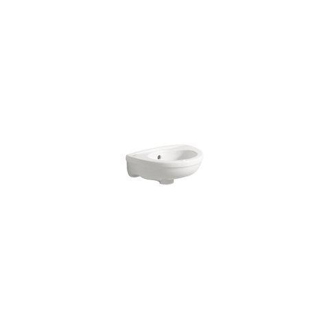 Geberit Keramag Fidelio Handwaschbecken B:25xT:37cm ohne Hahnloch mit Überlauf weiß mit KeraTect 274037600