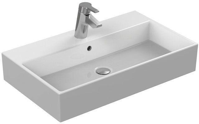 Ideal Standard Strada Waschtisch B:71xT:42cm 1 Hahnloch mittig mit Überlauf weiß K078201