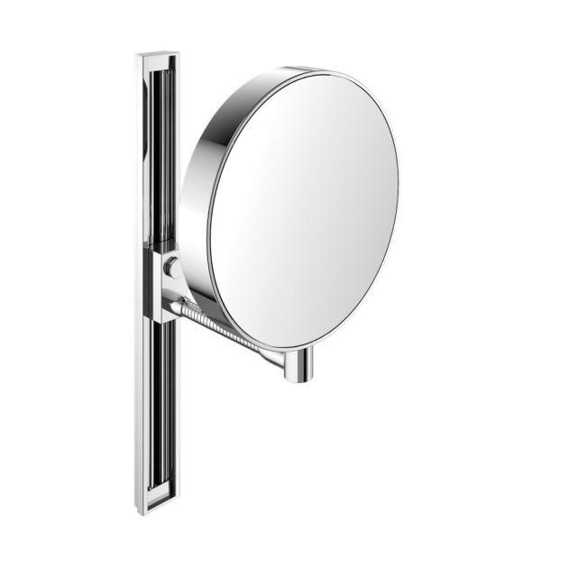 Emco Rasier- und Kosmetikspiegel 3-/7-fach, 109500115, chrom, verstellbar