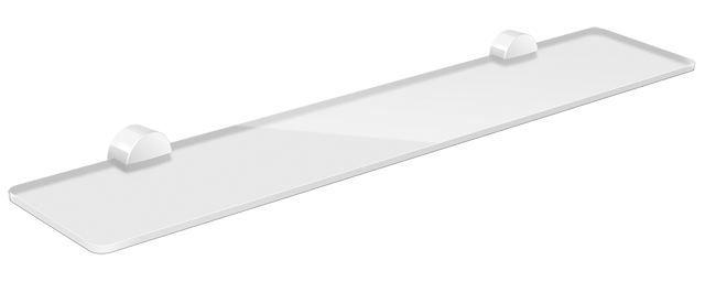 HEWI Ablage 450 mm System 815 Kunststoffrosette Signalweiß 815.03.11095 98