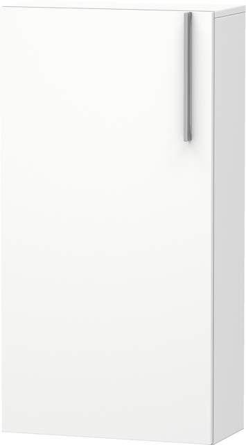 Duravit Vero Halbhochschrank B:50xH:96xT:24cm 1 Tür Türanschlag links weiß matt VE1155L1818