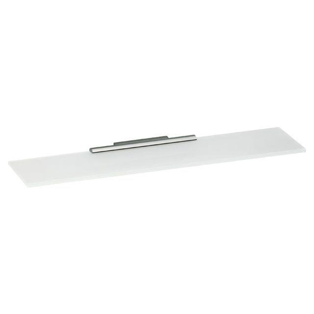 Keuco Plan Cristallin-Glasplatte unten mattiert ohne Grünkante 350x120 mm 14910005300