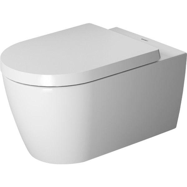 Duravit ME by Starck Tiefspül-Wand-WC rimless ohne Spülrand L:57cm weiß mit Wondergliss 25290900001