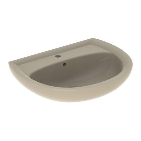 Geberit Keramag Renova Waschtisch B:65xT:51 cm 1 Hahnloch mit Überlauf bahamabeige 223065080