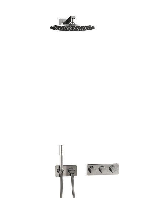 Ideal Standard ARCHIMODULE Brauseanwendung SOFT mit Kopf- und Handbrause chrom A1549AA
