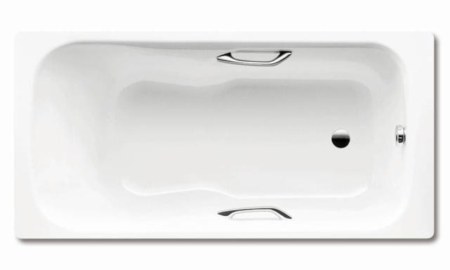 Kaldewei Ambiente DYNA SET STAR 625 Badewanne Rechteck 150x75cm alpinweiß Perl-Effekt 226700013001