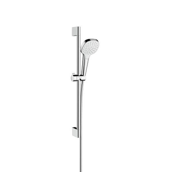 Hansgrohe Croma Select E 1jet Brauseset EcoSmart 9l/min 65cm weiß chrom 26585400