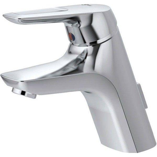 Ideal Standard Ceramix Einhebel-Waschtischarmatur Niederdruck mit Ablaufgarnitur chrom A5650AA