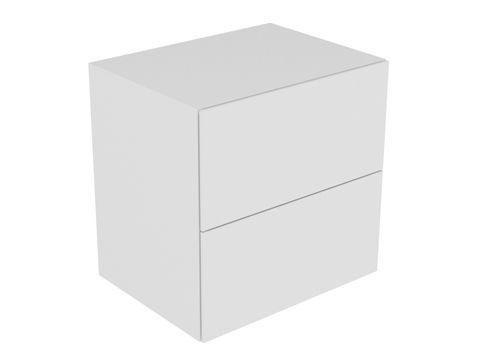 Keuco Edition 11 Sideboard 2 Frontauszüge mit Beleuchtung eiche platin 31323440100