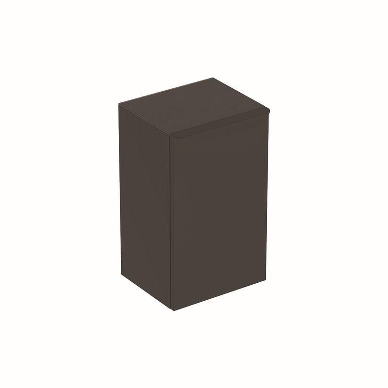 Geberit Smyle Square Seitenschrank mit einer Tür links 36x60x326cm lava 500360JK1